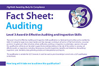 Level 3 Award in Effective Auditing and Inspection Skills